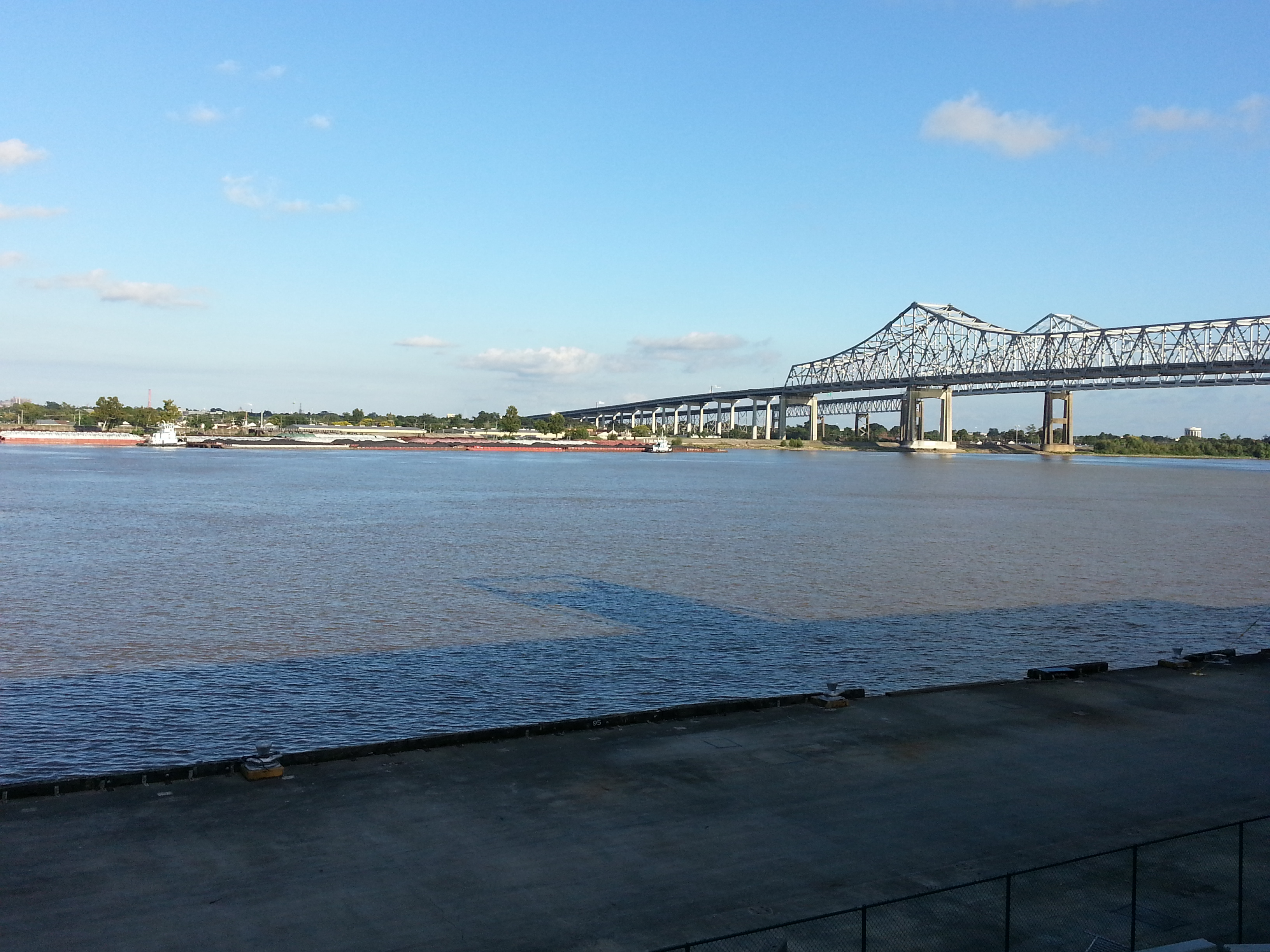Mississippi River at New Orleans