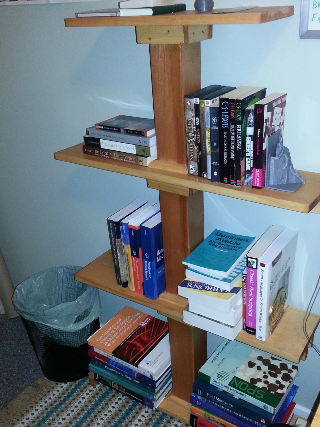 Book-shelf photo