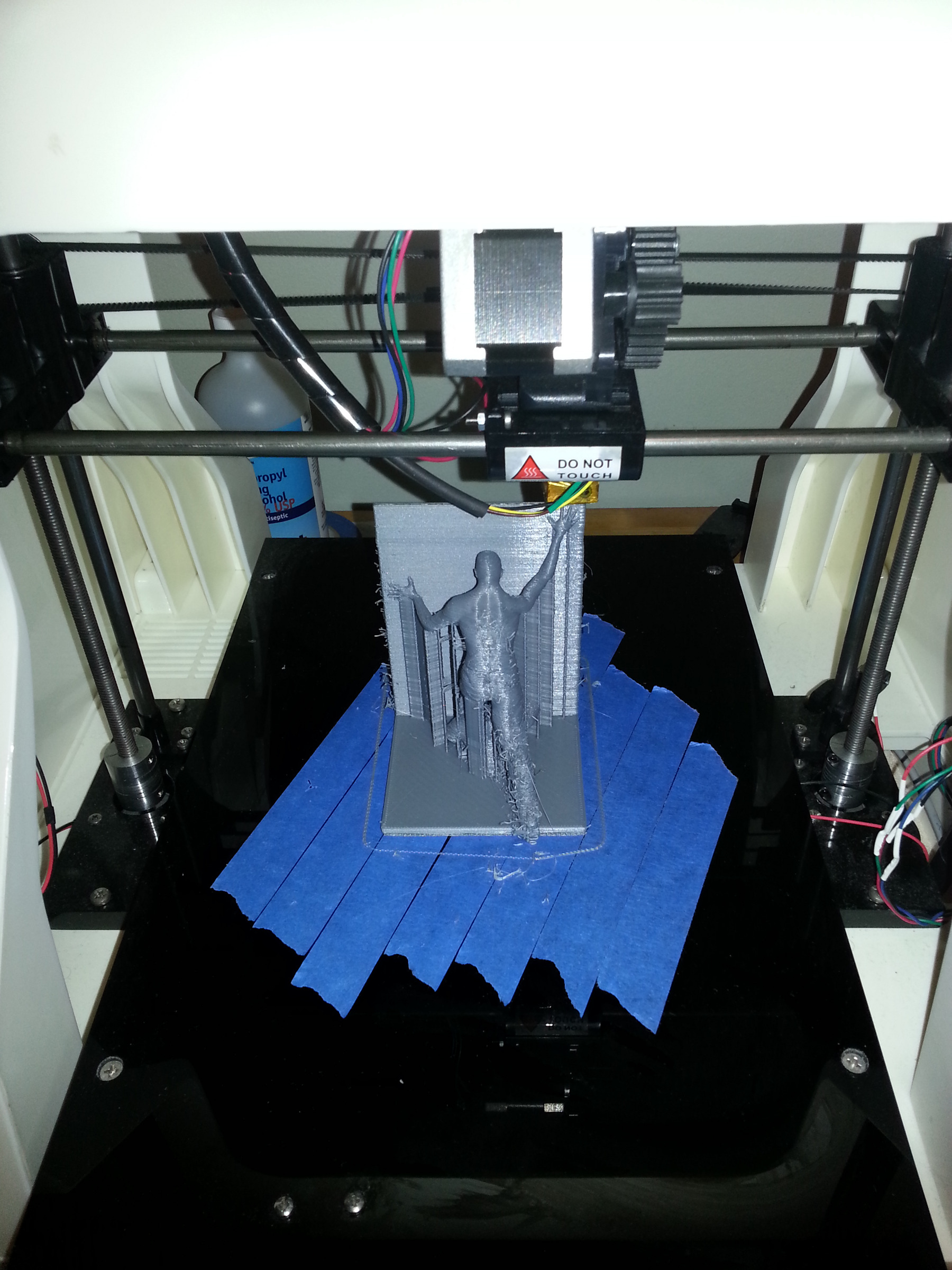 Printing the bookend
