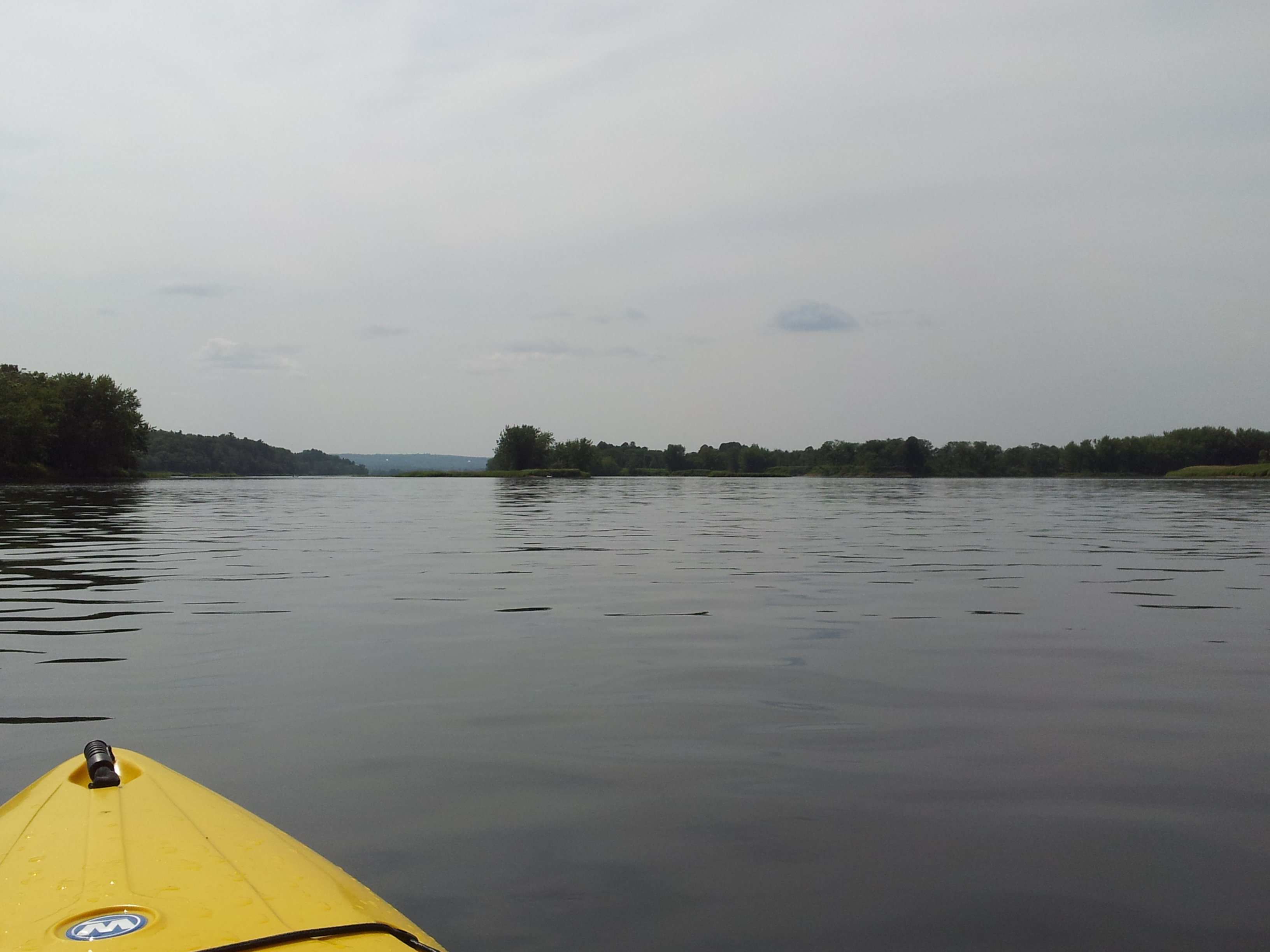 Approaching Eqpahak Island