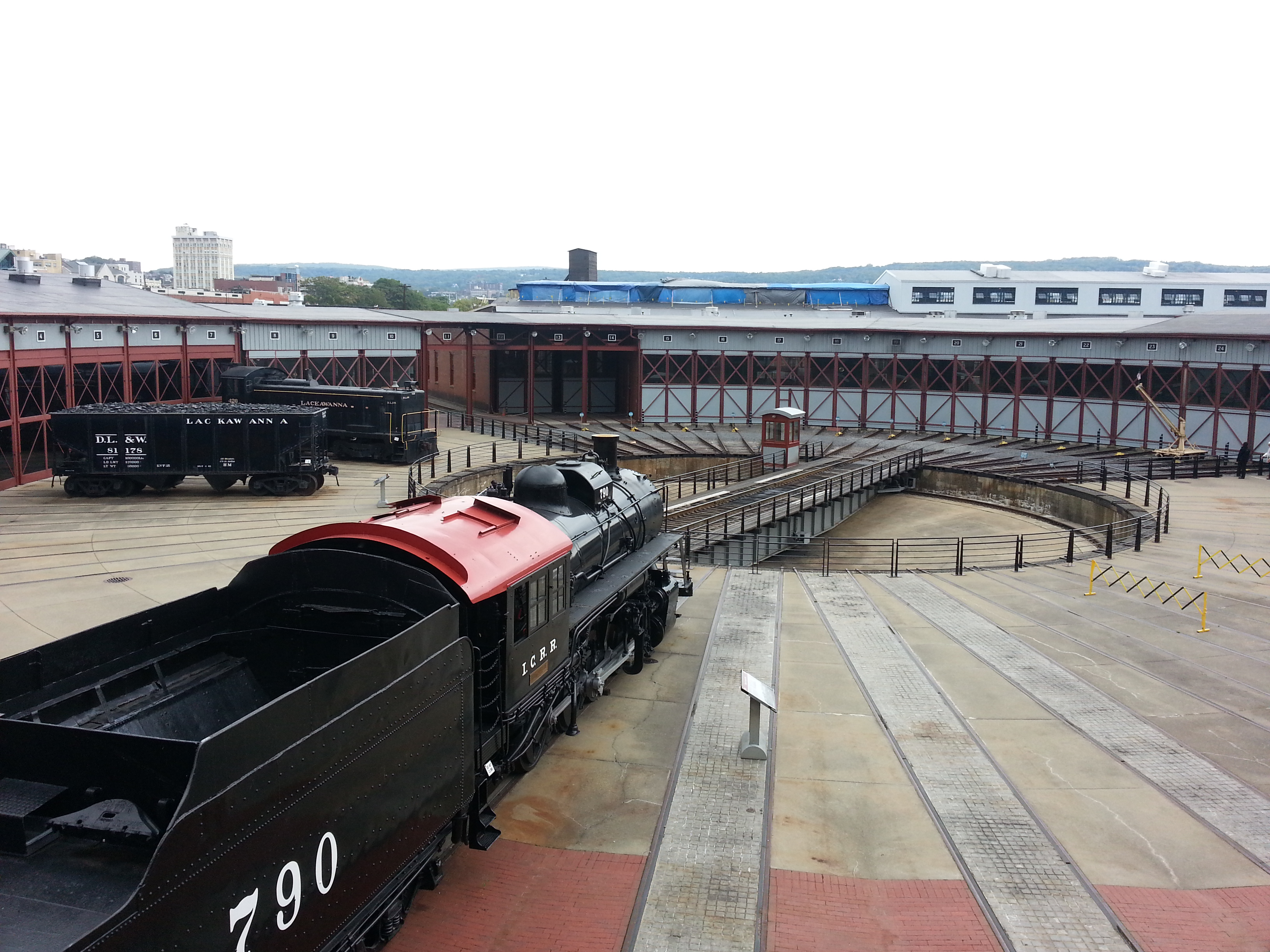 Steamtown NHS in Scranton PA