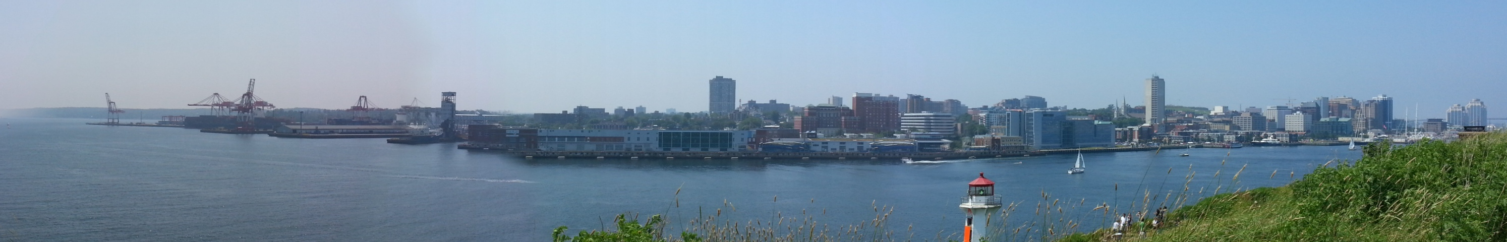 Panorama of Halifax from George's Island