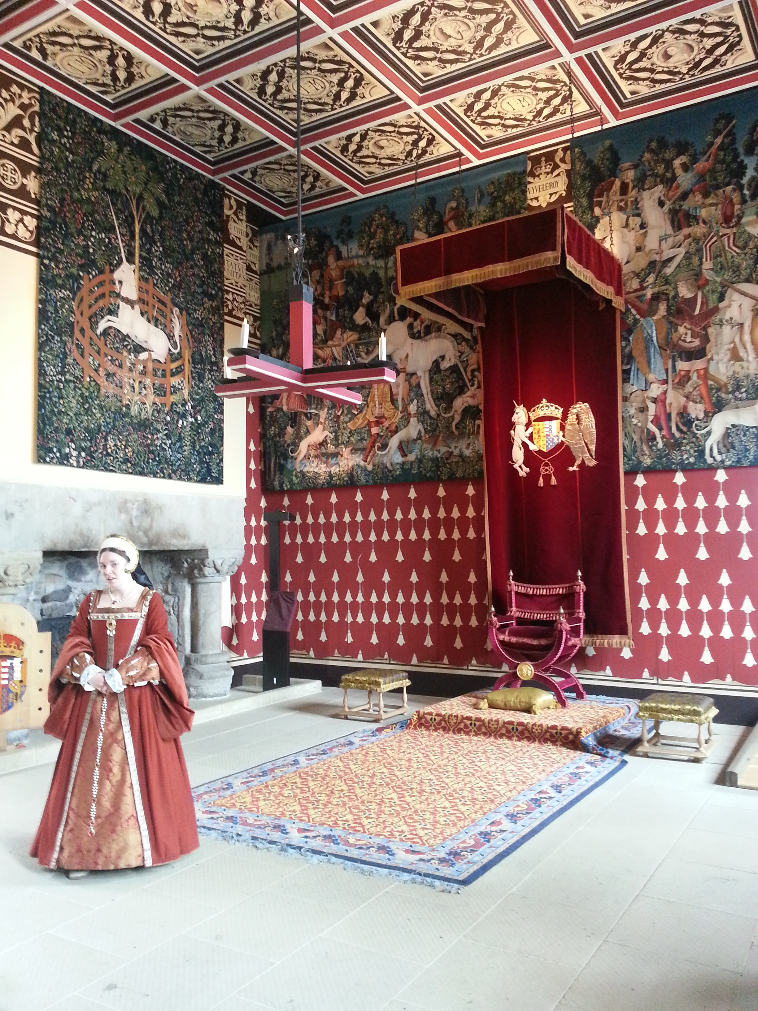 Tapestries and history lessons at Stirling Castle