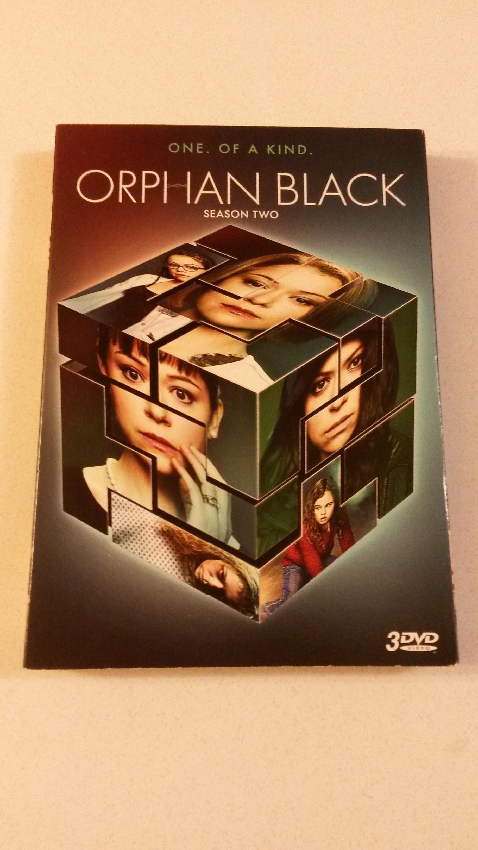 Orphan Black season 2 DVD set