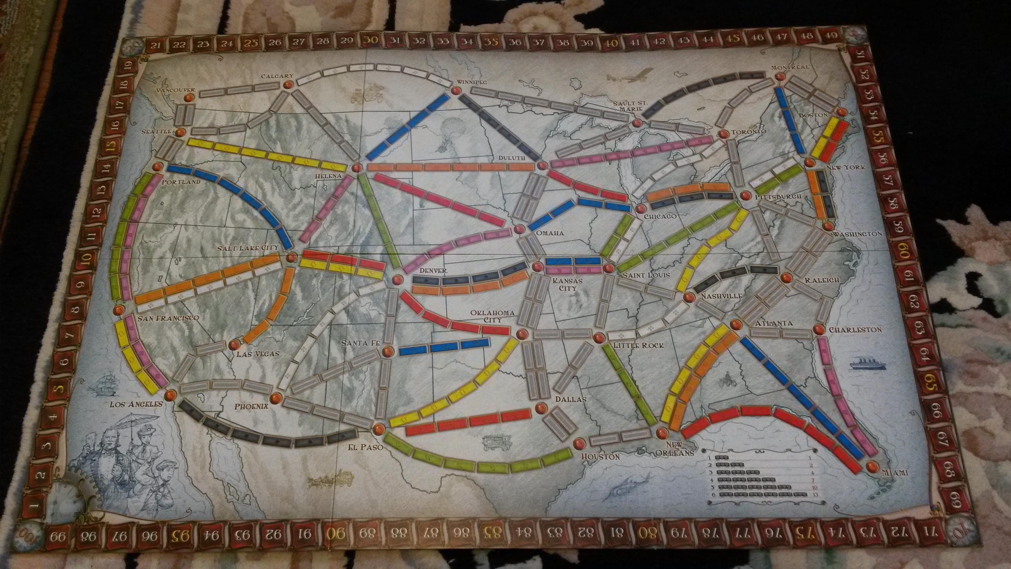 TTR Board/Map
