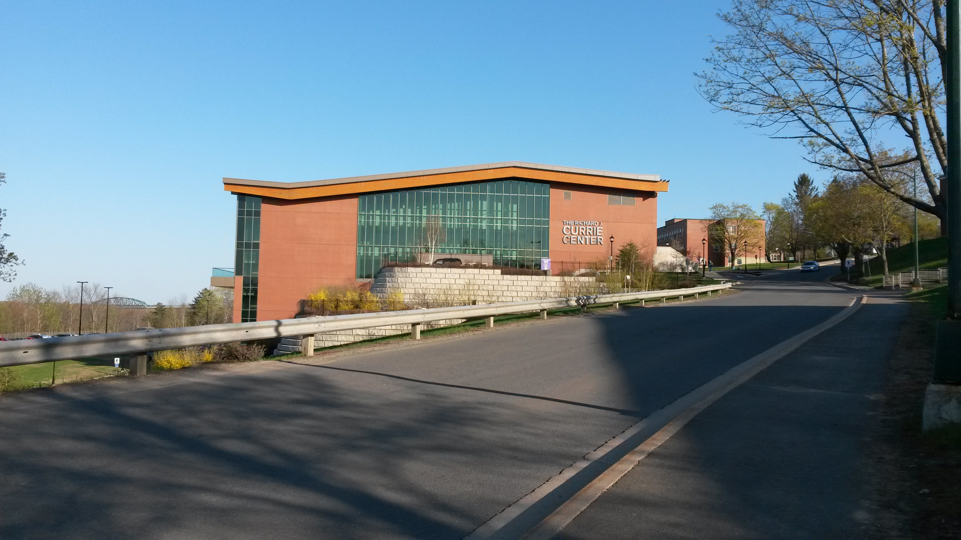 The venue: Currie Center at UNB