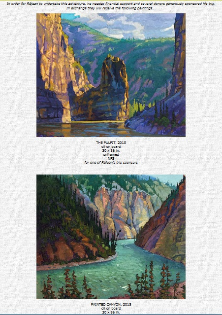 Rejean Roy Paintings