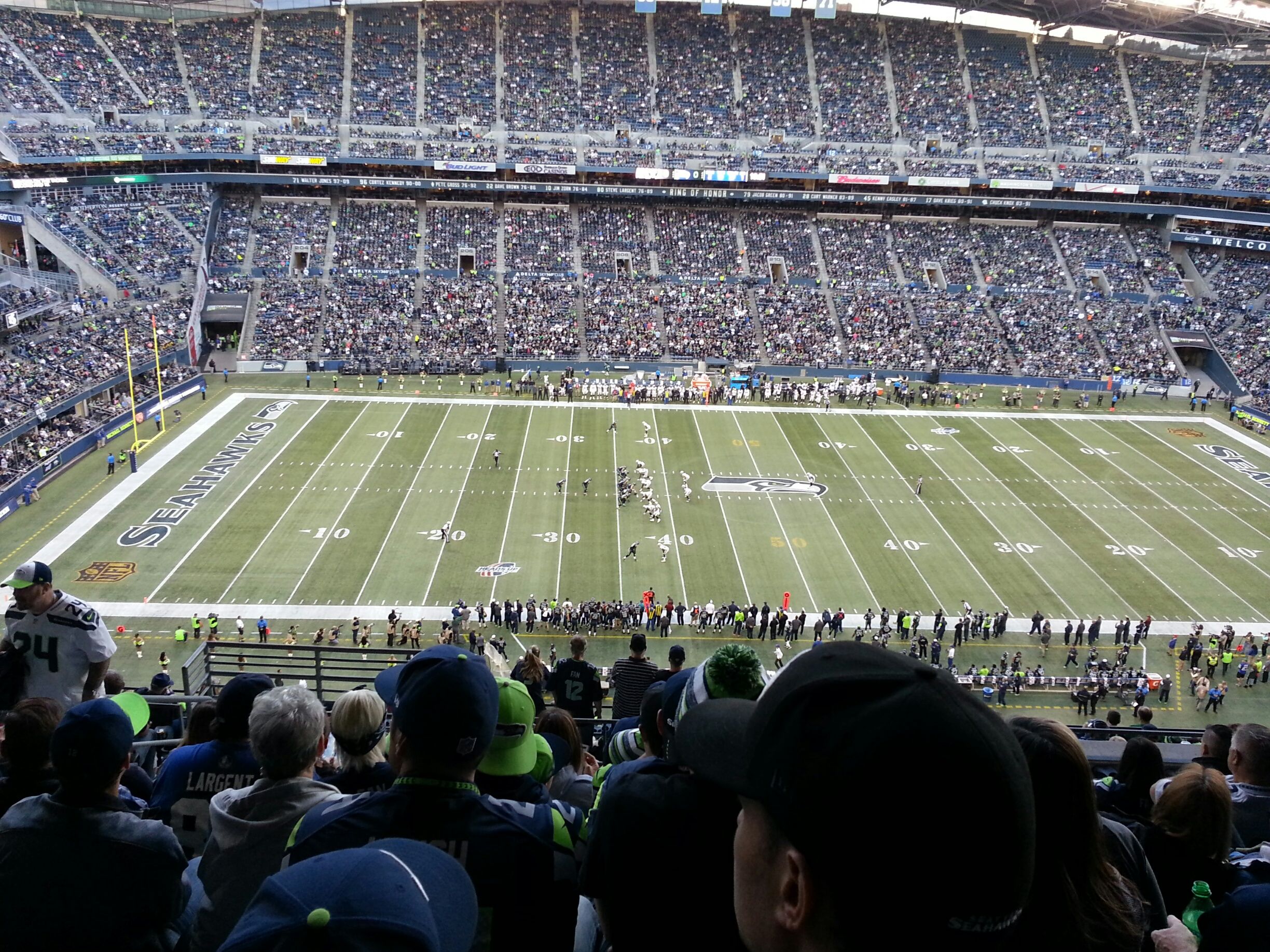 Seahawks' game