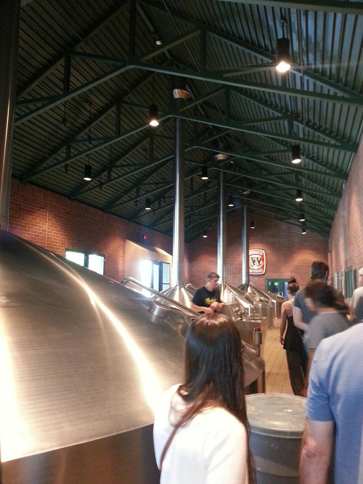 Brewery Tour at Widmer Bros.