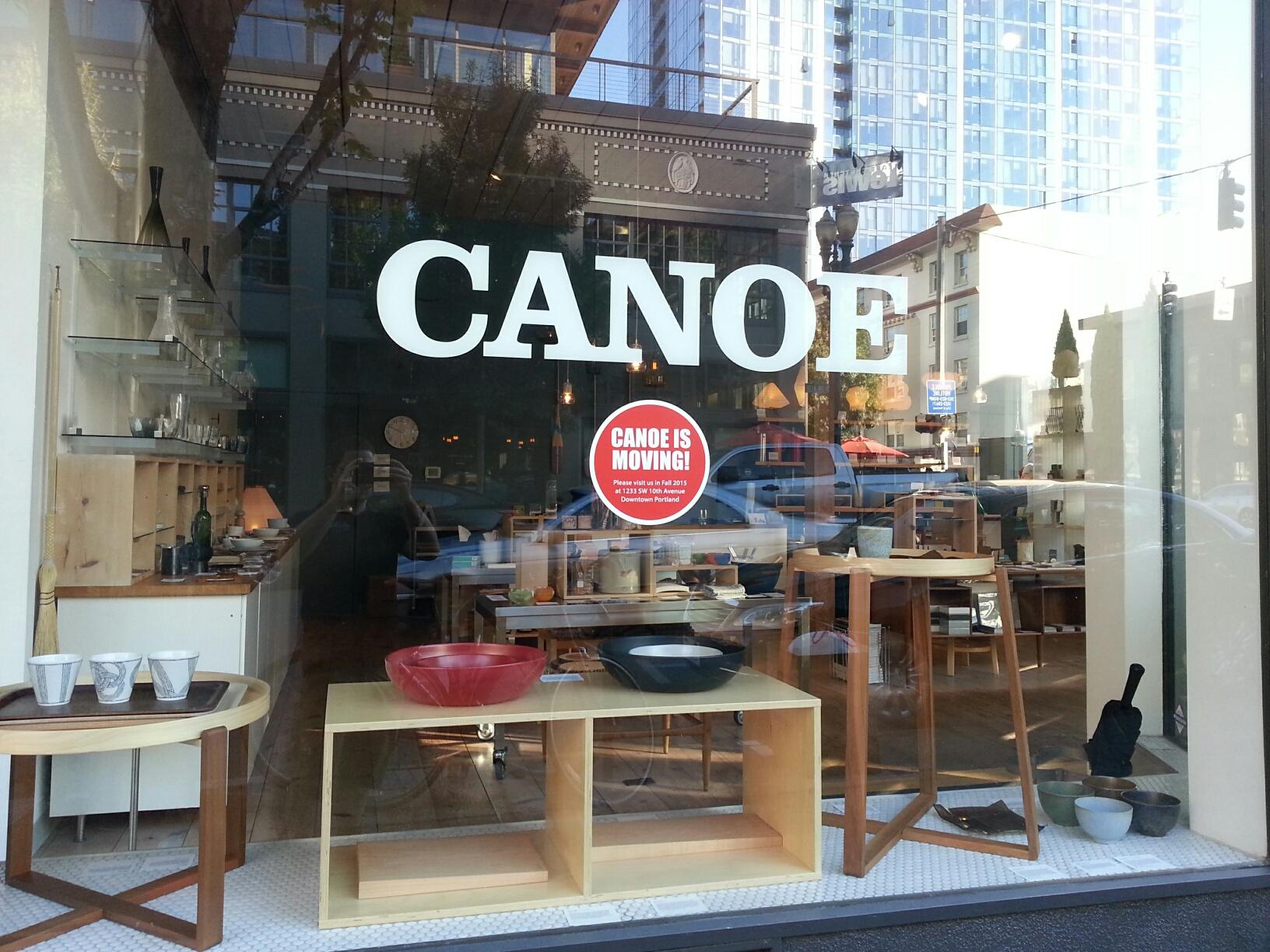 Canoe design shop