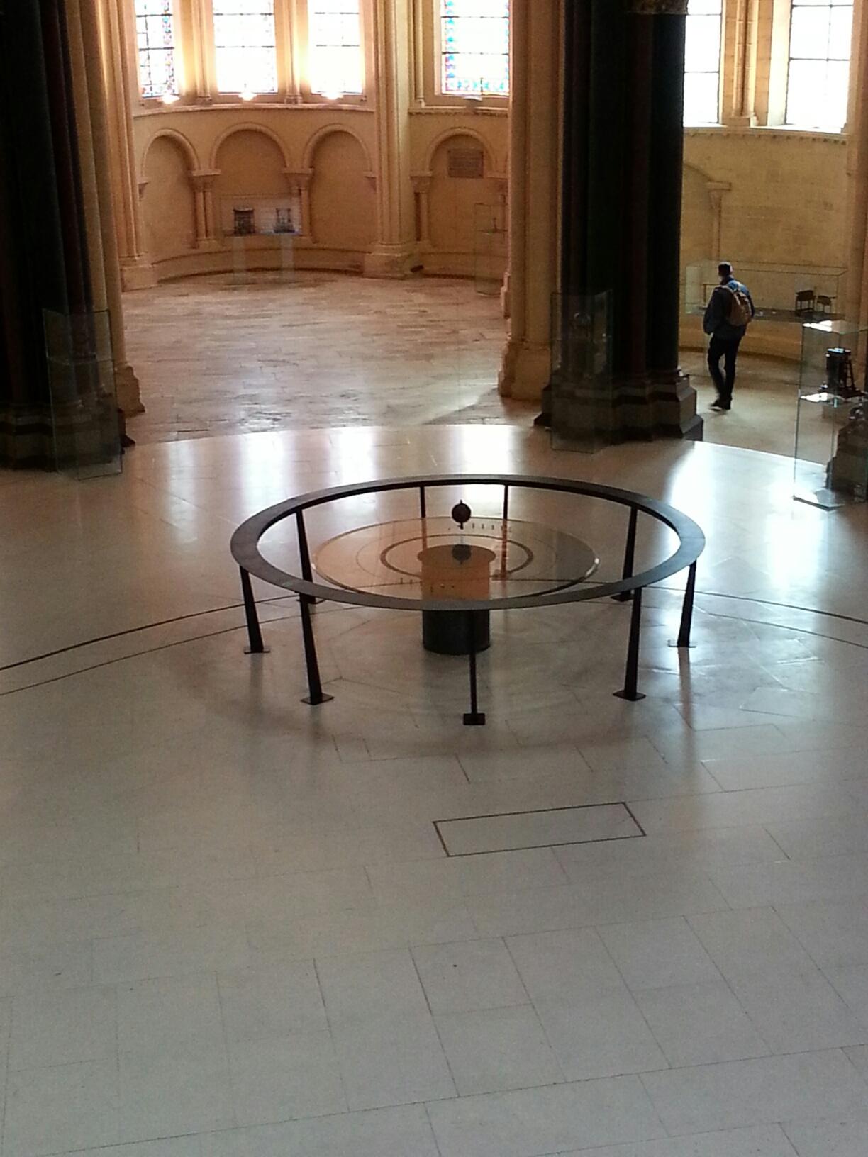 Pendulum at Arts et Metiers