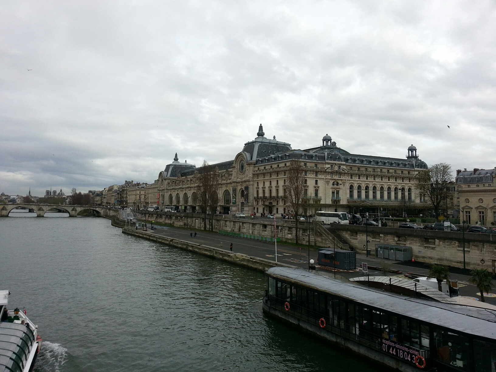 Musee d'Orsay and the Seine