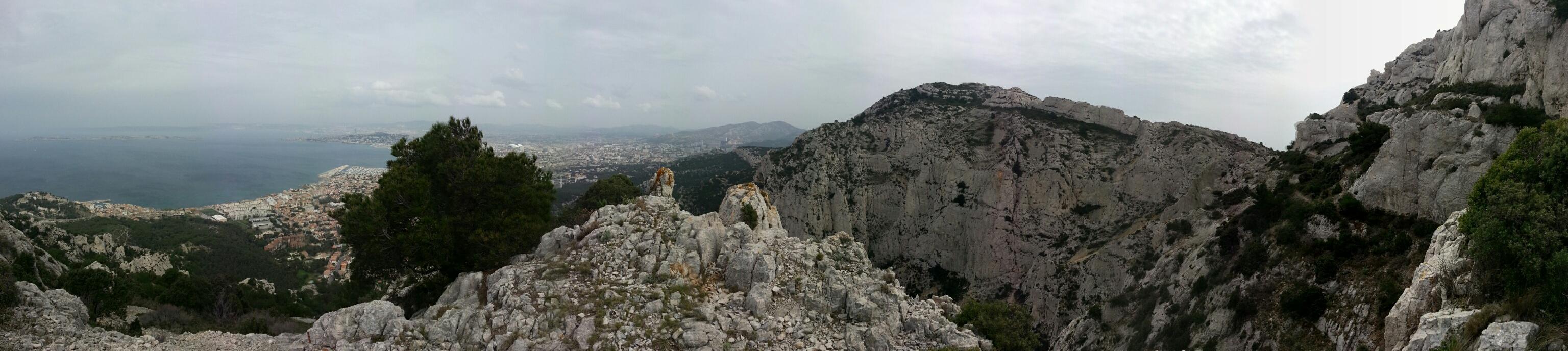 Calanques hiking