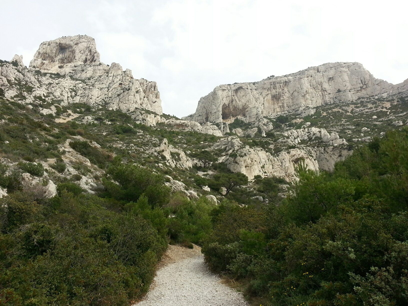 More Calanques hiking