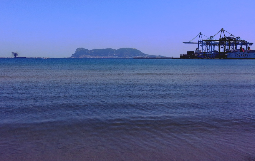 Gibraltar from Algeciras