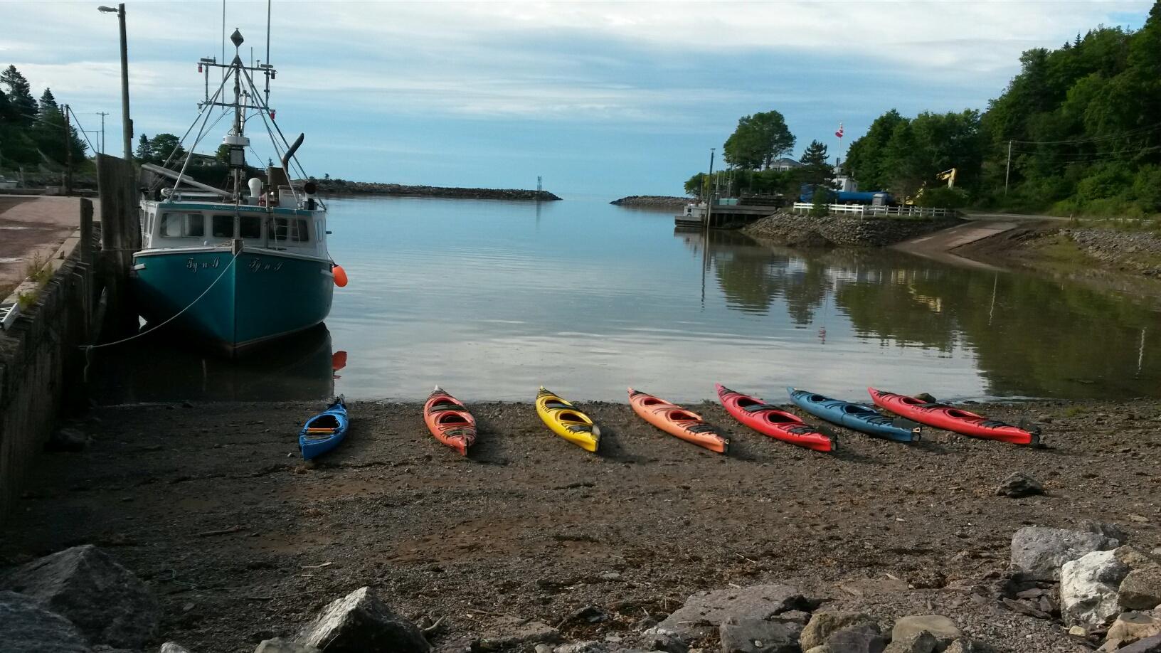 Beautiful morning for sea kayaking