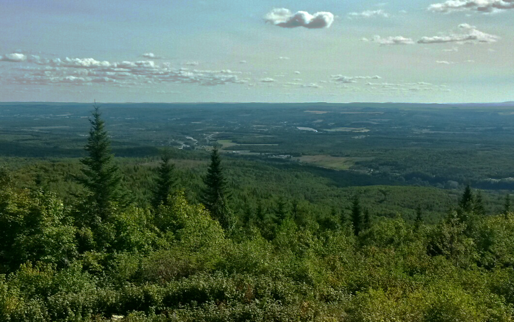 View from Montagne des Therrien