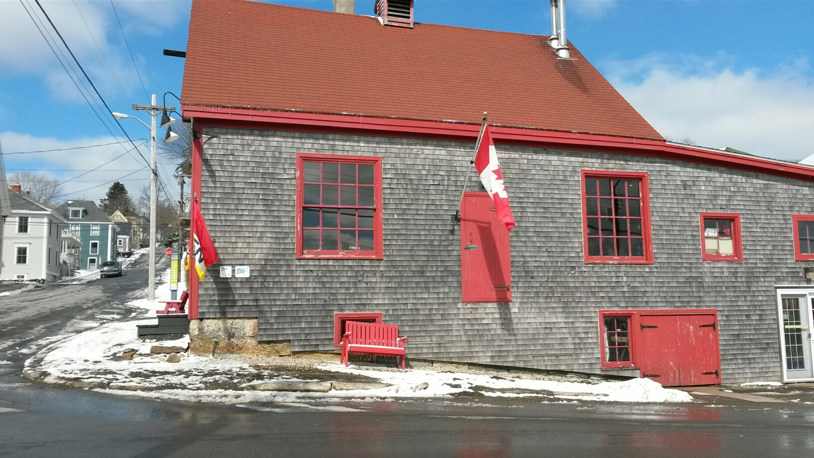 Ironworks Distillery building in Lunenburg