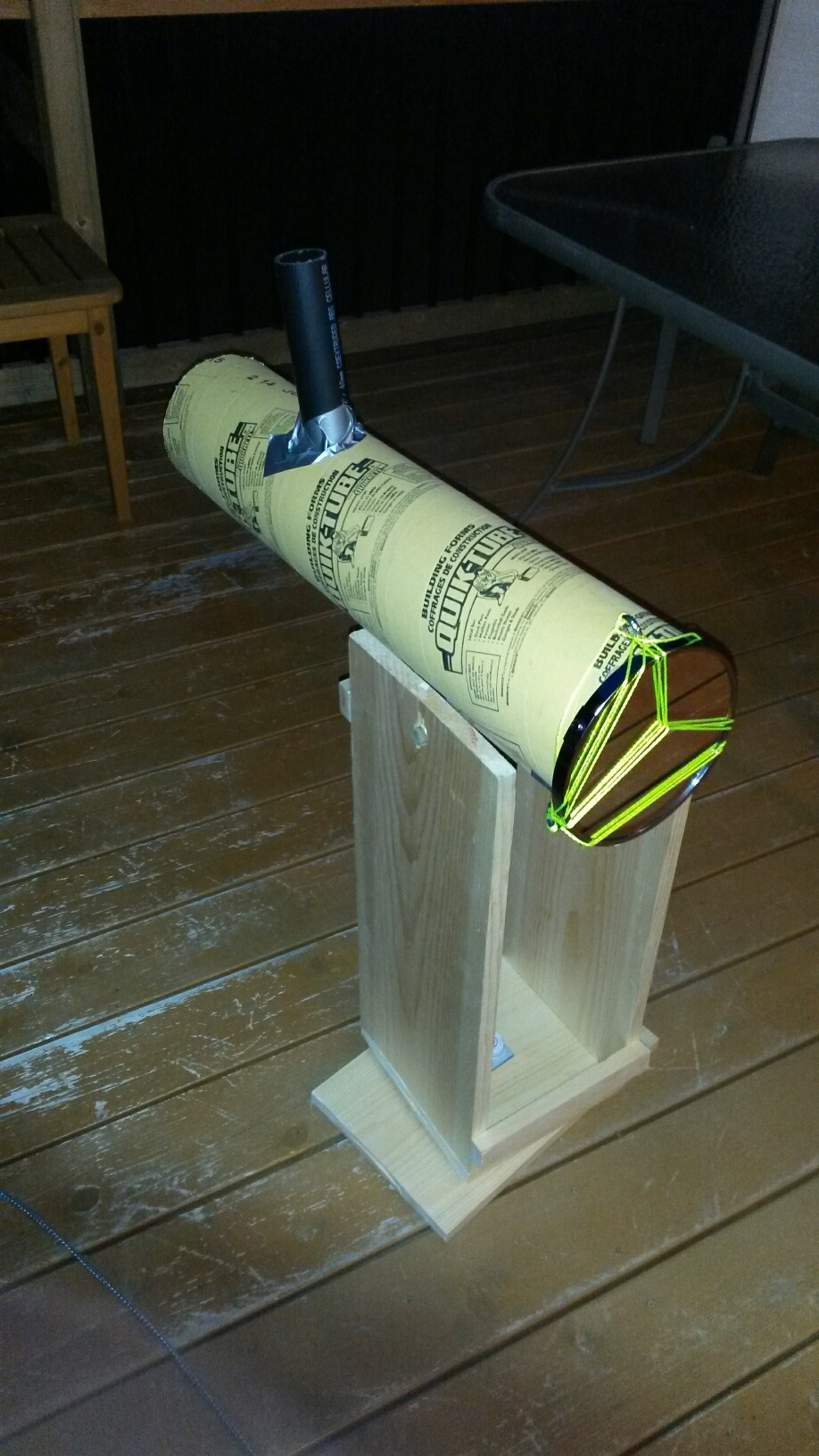 Finished DIY telescope