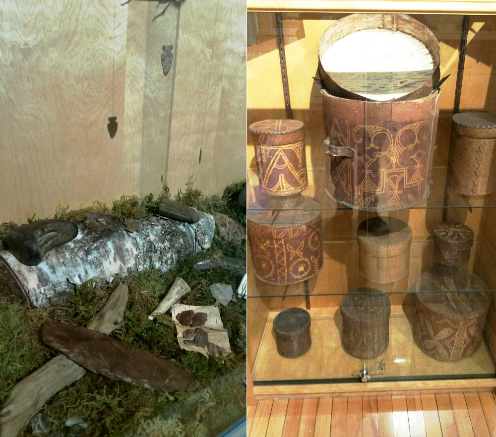Wabanaki Way exhibit at the Fredericton Region Museum