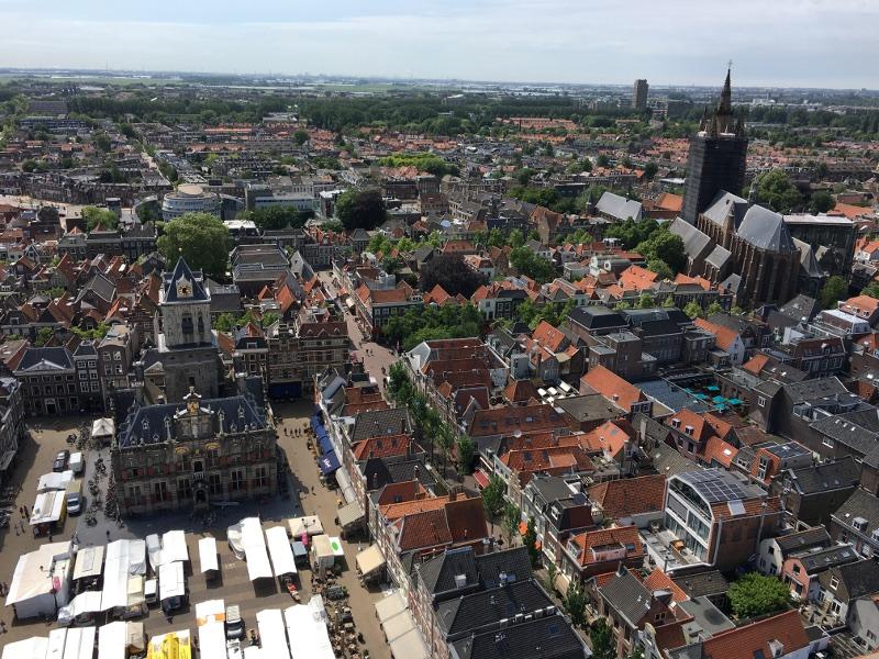 Delft from the Nieuwe Kerk