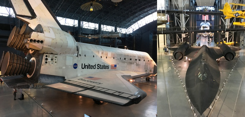 At the Udvar-Hazy Center