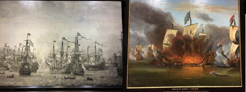 Van de Velde paintings