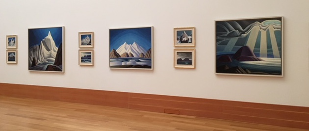 Lawren Harris paintings